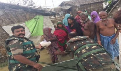 Indian Army Rescues Thousands of Stranded People in Bihar Floods