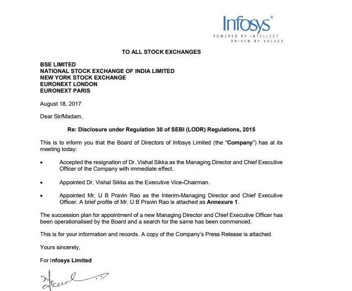 infosys-letter