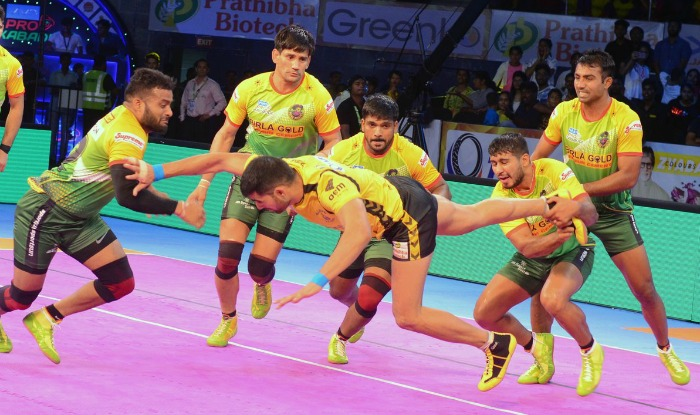 Check Out The Pro Pics From Our Hot Pink Destination: Pro Kabaddi 2017 Highlights: Patna Pirates Vs Puneri