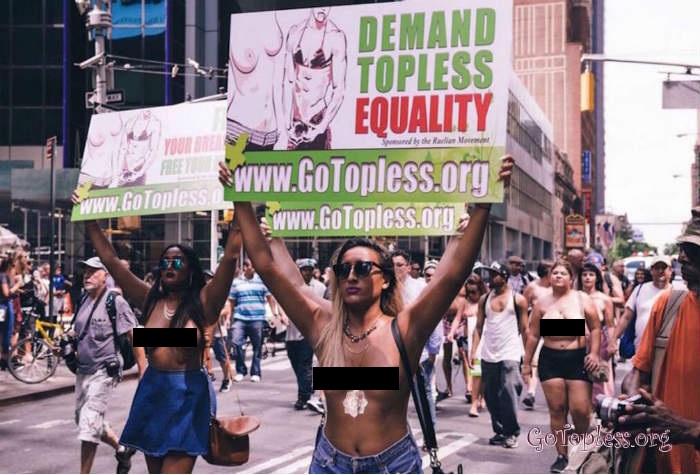 Free the nipple activist huge tits
