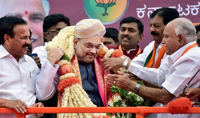 Amit Shah Woos Vokkaliga Bloc in Karnataka as Congress ...