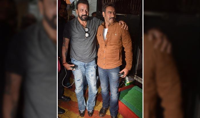 Ajay Devgn and Sanjay Dutt on the sets of Khatron Ke Khiladi 8
