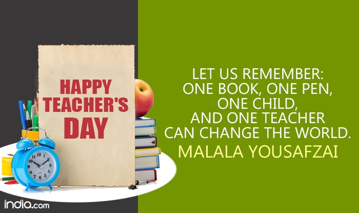Teachers day quotes in english 11 best famous inspirational teachers day quotes in english 11 best famous inspirational sayings to share with your mentor on teachers day 2018 buzz news india m4hsunfo