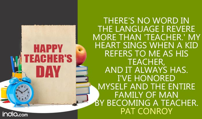 Teachers' Day Quotes in English: 11 Best Famous