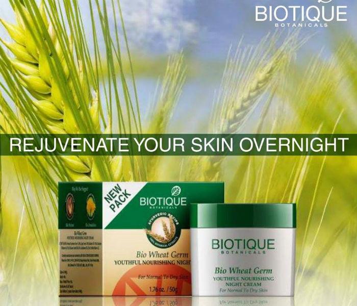 Biotique Bio Wheat Germ cream