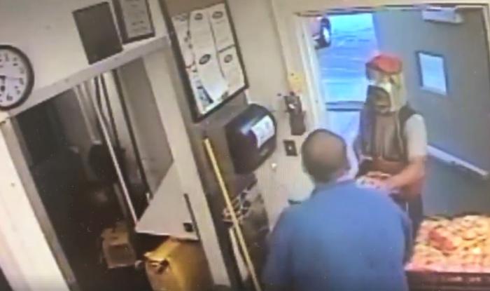 Man Dressed As Coca-Cola Bottle Threatens Kentucky Restaurant Owner With A Gun (Watch Video)