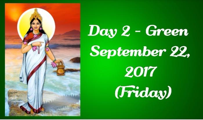 Navratri Colour of Day 2