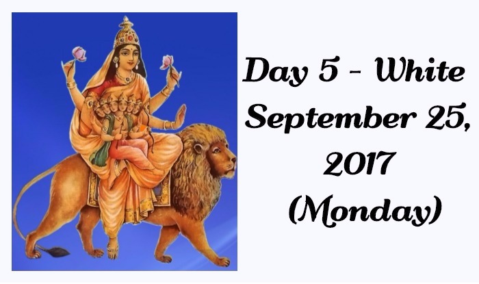Navratri Colour of Day 5