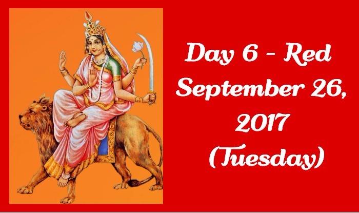 Navratri Colour of Day 6