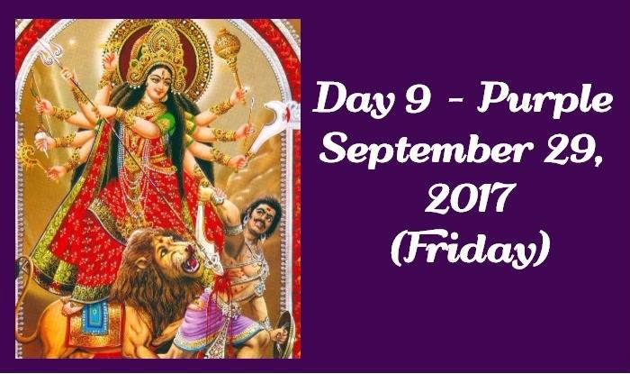 Navratri Colour of Day 9