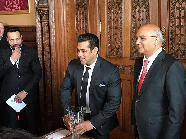 Salman Khan honoured by the UK House of Commons