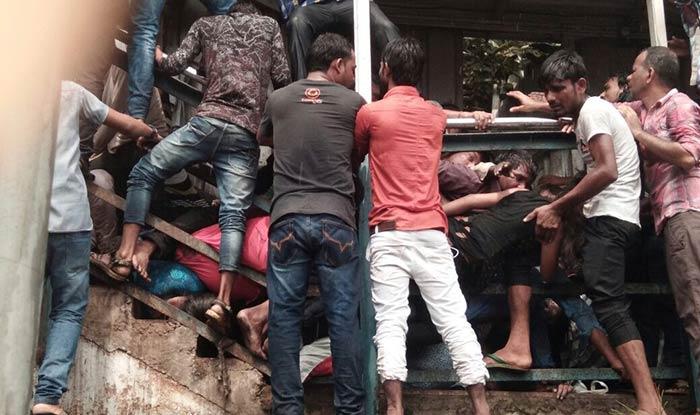Stampede At Elphinstone Railway Station Bridge In Mumbai