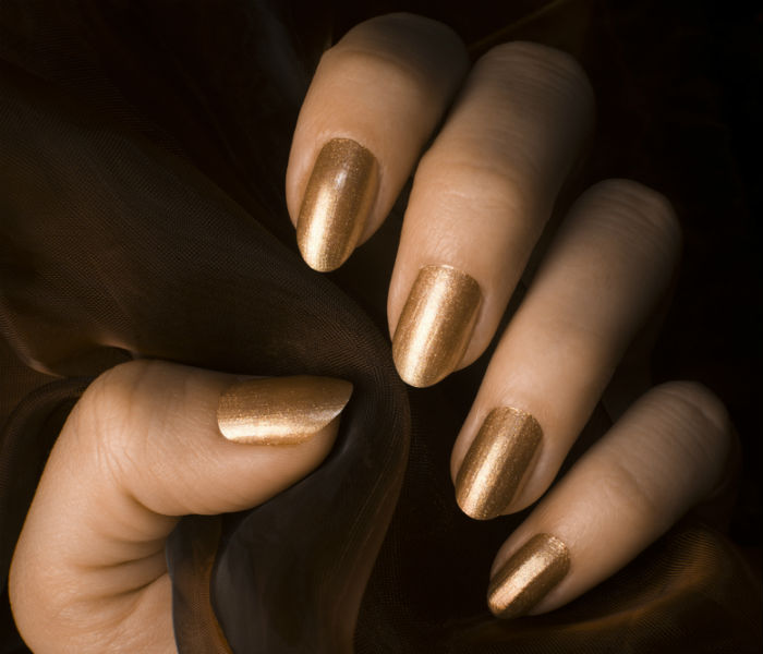 If You Do, The Light Gold Nail Color Is What You Should Opt For. Gold Has  Always Been In Fashion And It Isnu0027t Going To Fade ...