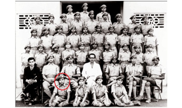 Dedicated to serve the nation, he was part of the National Cadet Corps, where his inner activist got a chance to serve and protect.