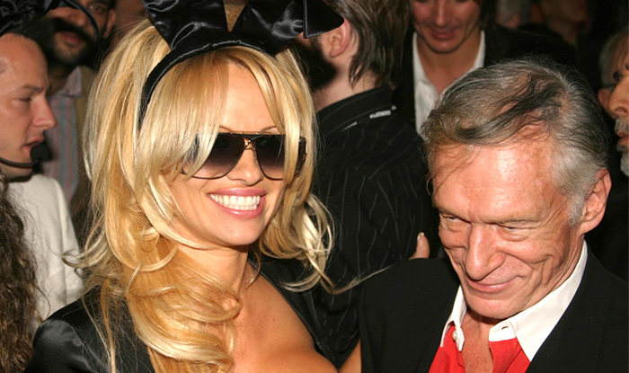 Hugh Hefner turns 82 and got a nude lap dance from Pamela