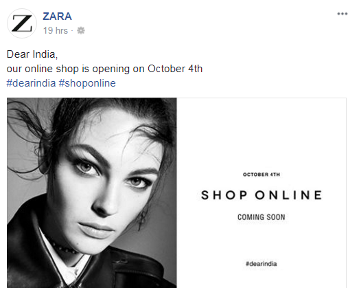 India coming soon online shop