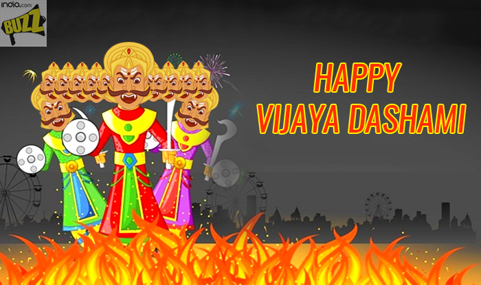 Vijayadashami 2017 Wishes Happy Dussehra Whatsapp Gif Images Sms Messages Facebook Quotes To Send Vijayadashami Greetings India Com