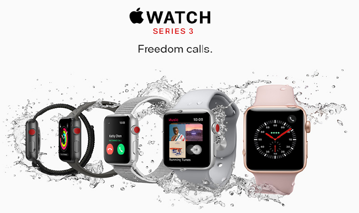 Apple Watch Series 3 (Image: Apple)