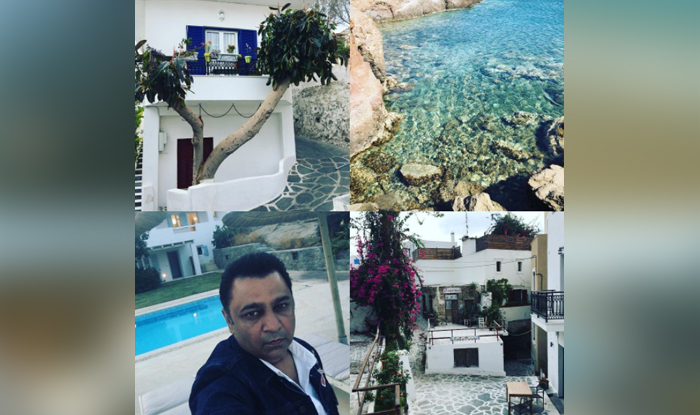 Tiger Zinda Hai sets in Greece as shared by fashion designer Ashley Rebello