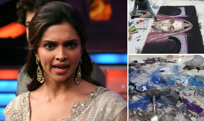 Deepika Padukone Loses Cool Over Ranbir Kapoor S Tattoo: Deepika Padukone Criticizes The Protesters Who Destroyed