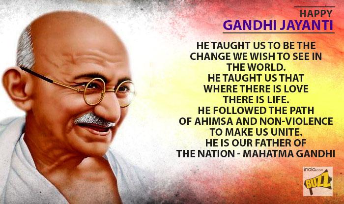 Is gandhi s message of nonviolence still