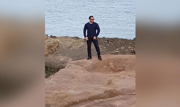 Salman Khan on the sets of Tiger Zinda Hai in Greece