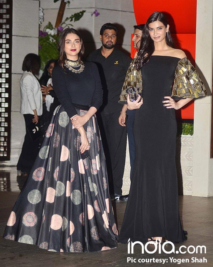 Aditi Rao Hydari and Diana Penty look their stylish best in black