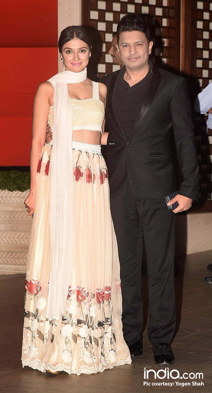 Bhushan Kumar and wife, Divya Khosla Kumar look picture perfect pairing in black and white