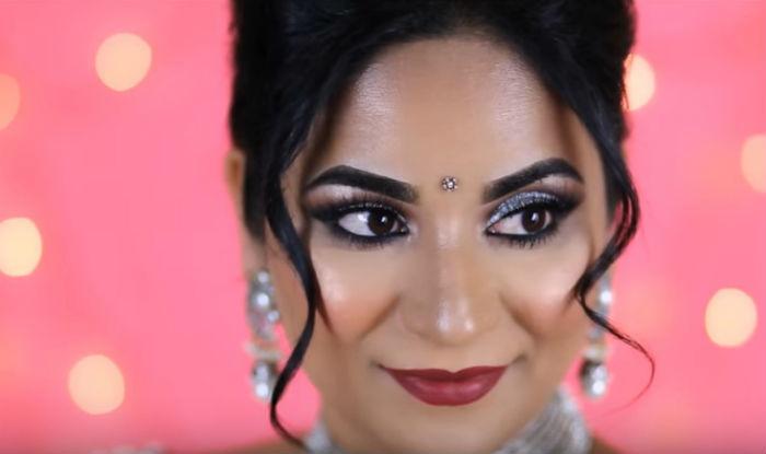 Diwali 2017 Makeup For Office Simple Festive Makeup Look For Deepavali Celebration At Office ...