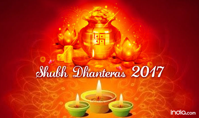 Happy Diwali And Dhanteras Wallpapers: Happy Dhanteras 2017 Wishes In Hindi: Best WhatsApp