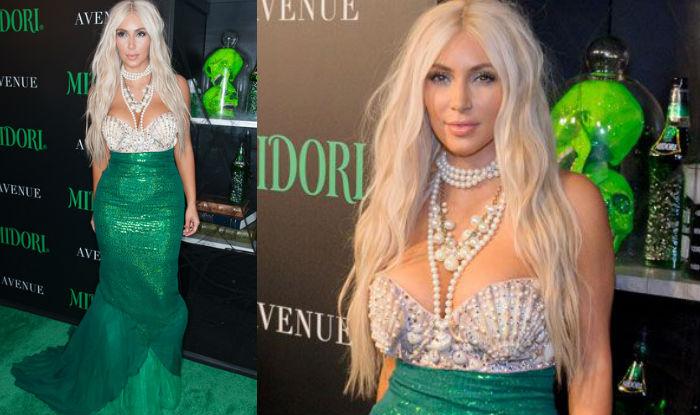 Kim Kardashian halloween ariel
