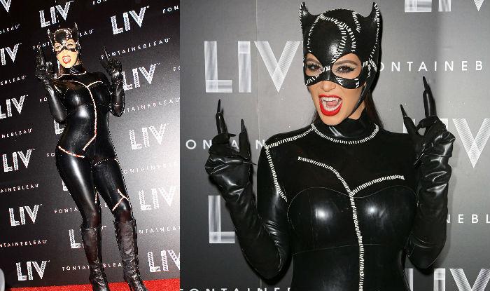 Kim Kardashian halloween catwoman