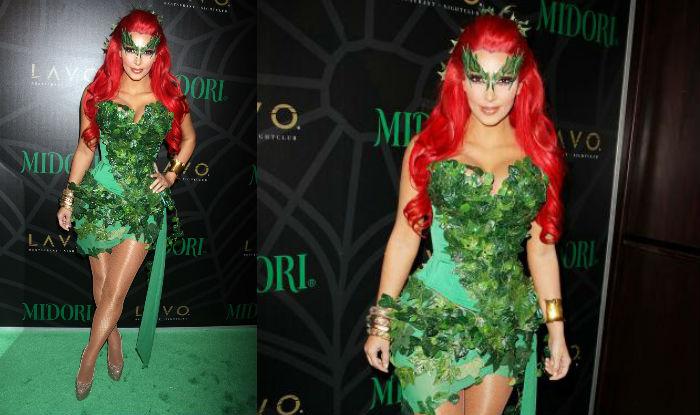 Kim Kardashian halloween poison ivy