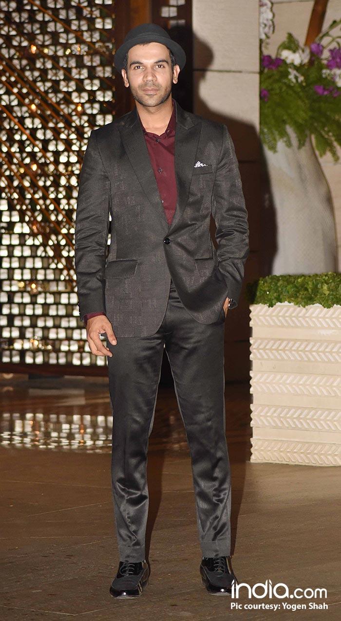 Rajkummar Rao looks smart in a brown suit