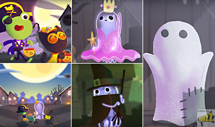 halloween 2017 google doodle introduces adorable jinx the ghost