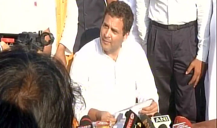 Rahul Gandhi in Amethi: If PM Modi Was a True Leader, he Would Deliver And Not Make Excuses