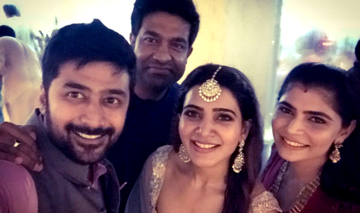Samantha Ruth Prabhu and Naga Chaitanya wedding: Samantha takes a selfie with Rahul Ravindran and Chinmayi