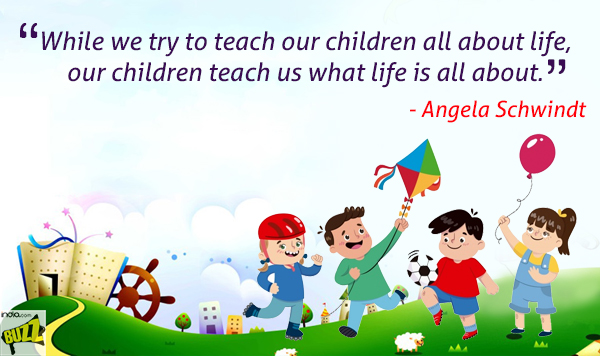 Children's Day Quotes Best And Famous Quotes Which Will Make You New Famous Quote Of The Day