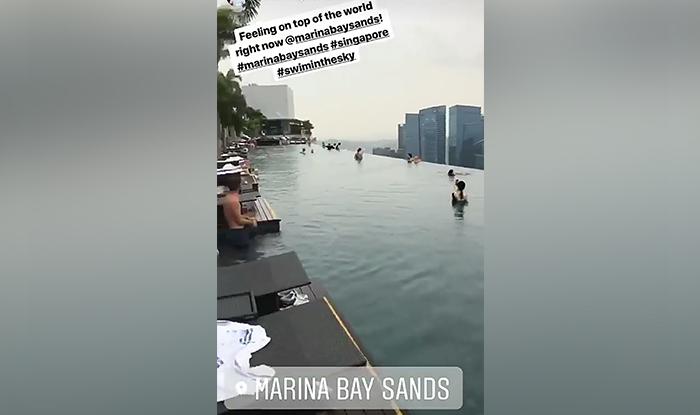 Sonam Kapoor in Singapore