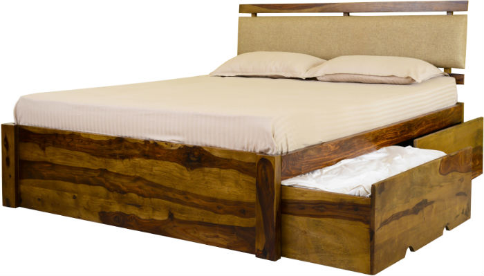 Double Bed with Storage