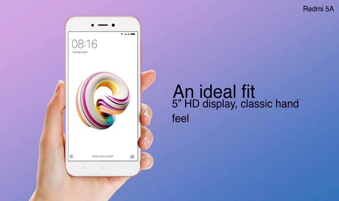 Xiaomi Redmi 5A Features:13-Megapixel Camera, 8-Day Battery