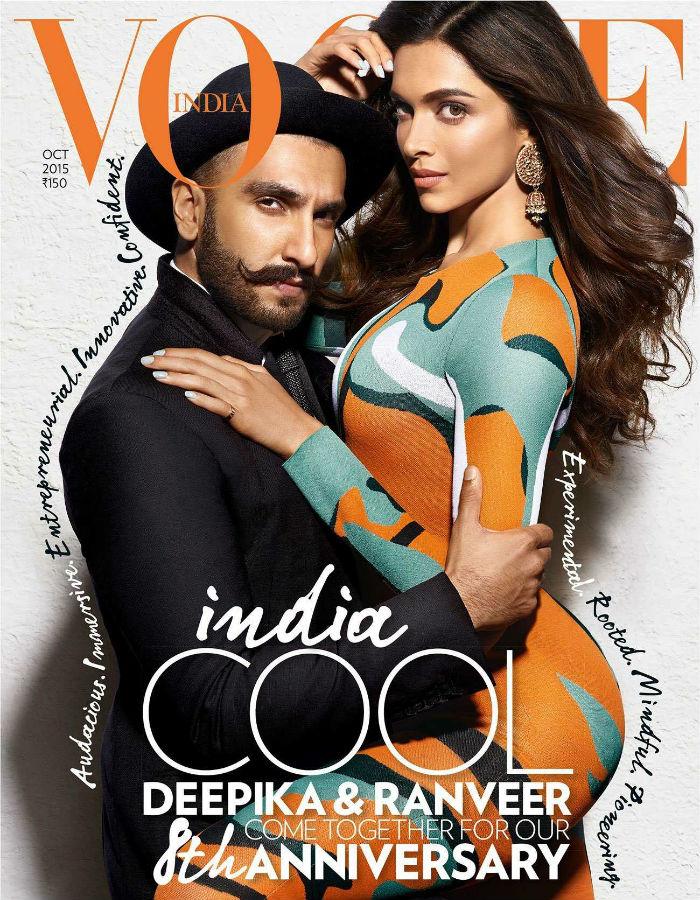 Deepika Ranveer Singh Vogue
