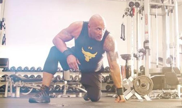 Dwayne Johnson Has a Travelling Gym Called the Iron Paradise With 18,000 kg Equipment