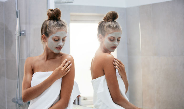 winter face pack for glowing skin