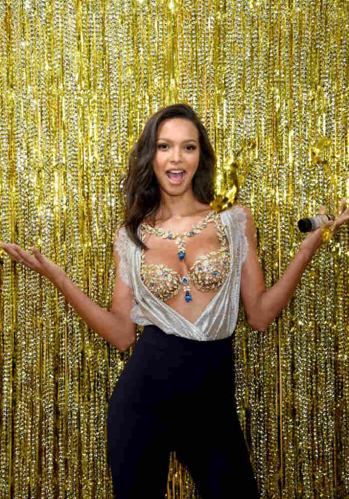 d963518d6c Brazilian Model Lais Ribeiro Will Be Wearing 600-Carat Fantasy Bra Worth  2  Million USD. Victoria s Secret ...
