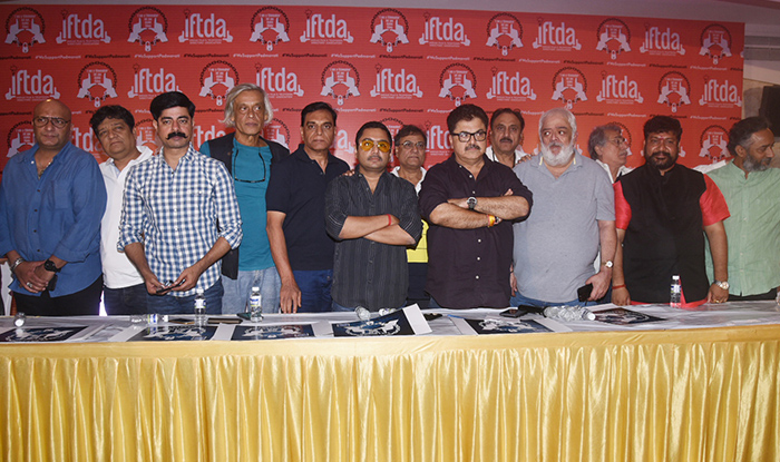 IFTDA PRESS CONFERENCE TO SUPPORT SANJAY LEELA BHANSALI