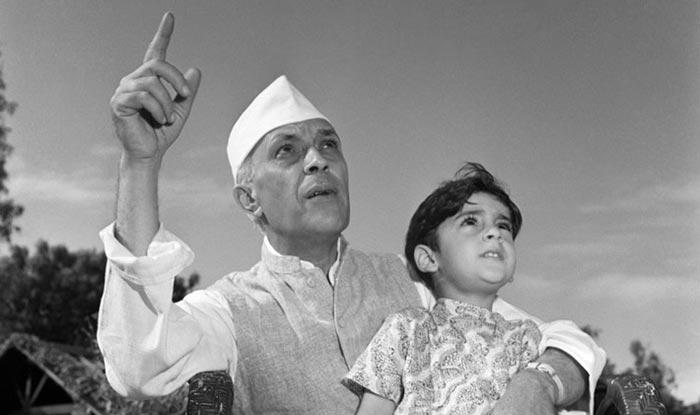 jawaharlal nehru and children