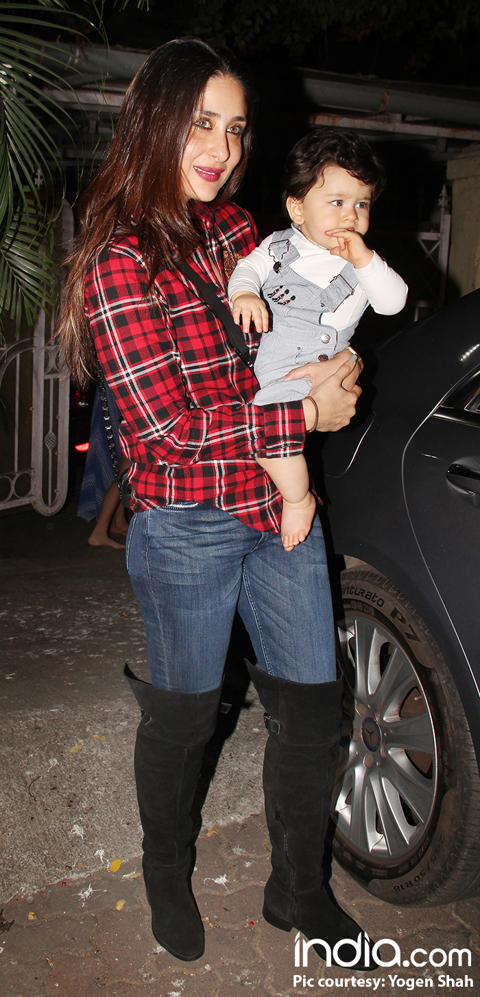 Taimur Ali Khan And Laksshya Kapoor Look Adorably Excited