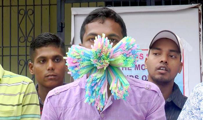 Odisha's Manoj Kumar Maharana creates Guinness World Record for Holding 459 straws in His Mouth