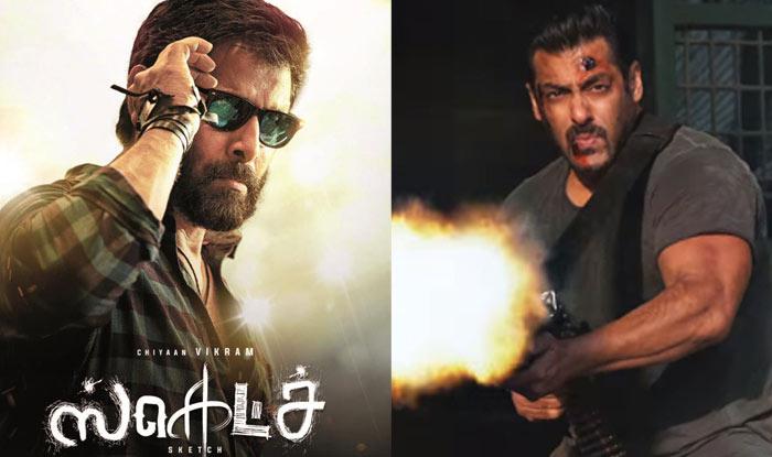 Vikramu2019s Sketch Avoids Clash With Salman Khanu2019s Tiger Zinda Hai; To Lock Horns With Suriyau0026#39;s ...